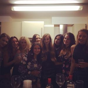 The media girls take on Come Dine With Me